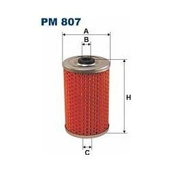 PM 807 F PM807 FILTR PALIWA ROBUR SZT FILTRY FILTRON [855150]...