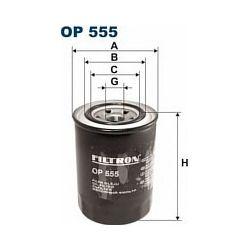 OP 555 F OP555 FILTR OLEJU MITSUBI COLT -86 GALANT 2,3D 84- SZT FILTRY FILTRON [855188]...