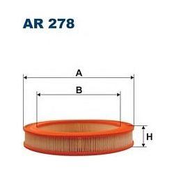 AR 278 F AR278 FILTR POWIETRZA HONDA CIVIC 1,3 1,5 SUZUKI SWIF SZT FILTRY FILTRON [855249]...