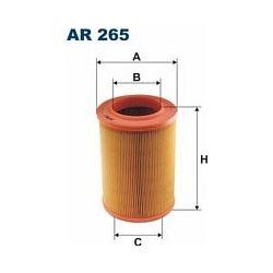 AR 265 F AR265 FILTR POWIETRZA VW TRANSPORTER 1,9D T4 2,5 T4 SZT FILTRY FILTRON [855389]...
