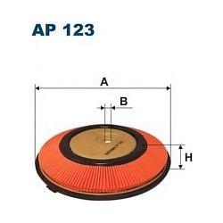 AP 123 F AP123 FILTR POWIETRZA NISSAN SUNNY 1,4 1,6 2,0 91- SZT FILTRY FILTRON [855542]...