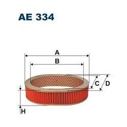 AE 334 F AE334 FILTR POWIETRZA NISSAN BLUEBIRD 1,6 1,8 LS LSX SZT FILTRY FILTRON [855558]...