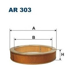 AR 303 F AR303 FILTR POWIETRZA NISSAN PATROL 3,2D TD SZT FILTRY FILTRON [855815]...