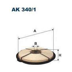 AK 340/1 F AK340/1 FILTR POWIETRZA DAIHATSU APPLAUSE 1,6I 16V 93- SZT FILTRY FILTRON [856294]...