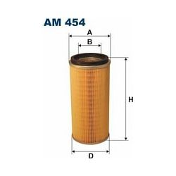 AM 454 F AM454 FILTR POWIETRZA NISSAN PATROL 2,8D Y60 91- 2,8TD SZT FILTRY FILTRON [856298]...