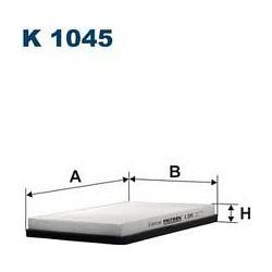 K 1045 F K1045 FILTR KABINOWY AUDI/VW/SEAT/SKODA 265X189X30 SZT FILTRY FILTRON [856441]...
