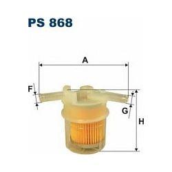 PS 868 F PS868 FILTR PALIWA HONDA ACCORD 1,6 12V 86-89 1,8 SZT FILTRY FILTRON [856939]...