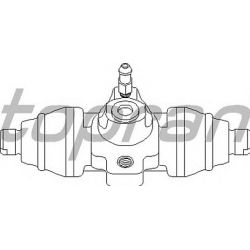 104 119 HP 104 119 CYLINDEREK HAMULCOWY VW T2 SRED=20,64 MM HANSPRIES OE 701611047 SZT HANS PRIES MULTILINIA HANS PRIES [857029]...