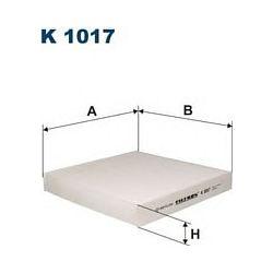 K 1017 F K1017 FILTR KABINOWY HONDA CIVIC 95-ROVER 414 416 95- FILTRY FILTRON [857089]...