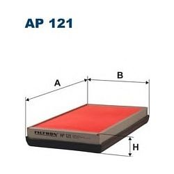 AP 121 F AP121 FILTR POWIETRZA NISSAN CHERRY 1,4I/5T 83-86 SZT FILTRY FILTRON [857309]...