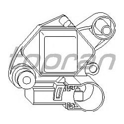 107 825 HP 107 825 REGULATOR NAPIECIA ALTERNATORA 14V - 32 MM OE 028903803F SZT HANS PRIES MULTILINIA HANS PRIES [857732]...