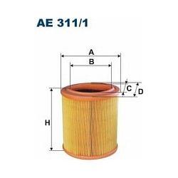 AE 311/1 F AE311/1 FILTR POWIETRZA CITR XSARA 1,4I 97- BERLINGO SZT FILTRY FILTRON [858035]...