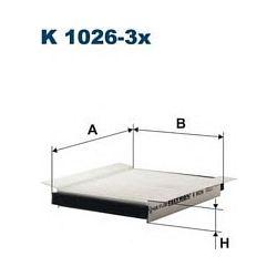 K 1026-3X F K1026-3X FILTR KABINOWY FORD ESCORT SCORPIO 2.0I,2.0I16V,2.5TD FILTRY FILTRON [858518]...