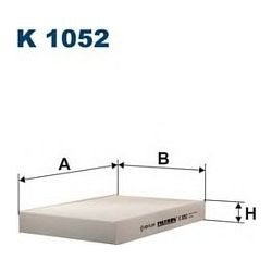 K 1052 F K1052 FILTR KABINOWY RENAULT CLIO II WSZY.MEGANE COUPE FILTRY FILTRON [858800]...