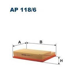 AP 118/6 F AP118/6 FILTR POWIETRZA MERCEDES C CLK SERIES SZT FILTRY FILTRON [858898]...