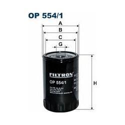 OP 554/1 F OP554/1 FILTR OLEJU CITROEN CX 2,0D 2,5D-89 VISA-91 SZT FILTRY FILTRON [859198]...
