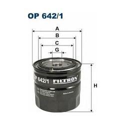 OP 642/1 F OP642/1 FILTR OLEJU RENAULT ESPACE LAGUNA SAFRANE 99- SZT FILTRY FILTRON [859249]...