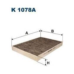 K 1078A F K1078A FILTR KABINOWY AUDI A6 1,8-2,8 99-A6 QUATRO 99 FILTRY FILTRON [859309]...