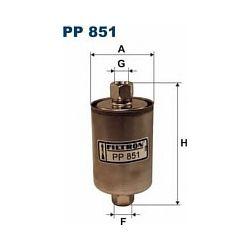 PP 851 F PP851 FILTR PALIWA LADA NIVA RIVA SAMARA 95- ; SZT FILTRY FILTRON [859826]...