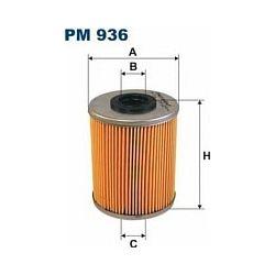 PM 936 F PM936 FILTR PALIWA OPEL ASTRA II 1.7/2.0 TD 98- VECTRA SZT FILTRY FILTRON [859996]...