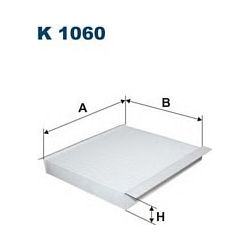 K 1060 F K1060 FILTR KABINOWY NISSAN PRIMERA WSZYSTKIE MODELE FILTRY FILTRON [860437]...