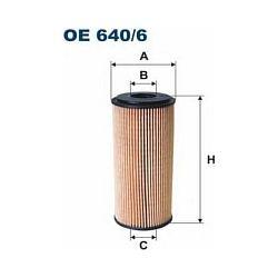 OE 640/6 F OE640/6 FILTR OLEJU MERCEDES A160/170CDI 99- SZT FILTRY FILTRON [860612]...