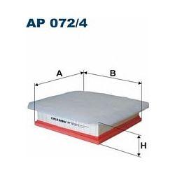 AP072/4 F AP072/4 FILTR POWIETRZA OPEL MERIVA B 1.3/1.7 CDTI 200X207X68 SZT FILTRY FILTRON [861030]...