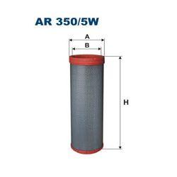 AR350/5W F AR350/5W FILTR POWIETRZA BEZPIECZNIK DO AR350/5 SZT FILTRY FILTRON [861053]...
