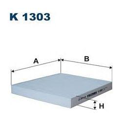K1303 F K1303 FILTR KABINOWY JEEP PATRIOT/FIAT FREEMONT/DODGE CALIBER 08 217X94X25 SZT FILTRY FILTRON [861055]...