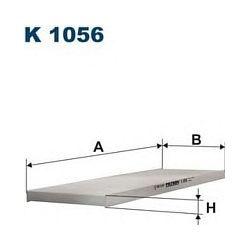 K 1056 F K1056 FILTR KABINOWY FIAT DUCATO 1.9D/TD BOXER 1.9 FILTRY FILTRON [861789]...