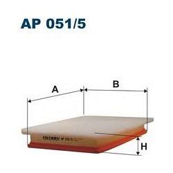 AP 051/5 F AP051/5 FILTR POWIETRZA OPEL COMBO B/CORSA C 1.3 CDT/1.7DTI 00 SZT FILTRY FILTRON [862440]...