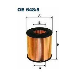 OE 648/5 F OE648/5 FILTR OLEJU OPEL ASTRA H/SIGNUM/VECTRA C/ZAFIRA II 1.9CDTI 04- SZT FILTRY FILTRON [862445]...