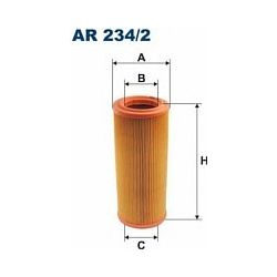 AR 234/2 F AR234/2 FILTR POWIETRZA FIAT PUNTO II 1.8I 16V 1.9D/JTD SZT FILTRY FILTRON [862772]...