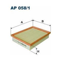 AP 058/1 F AP058/1 FILTR POWIETRZA CITROEN SAXO 1.6 07/00- PEUGEOT 306 1.6 10/00- SZT FILTRY FILTRON [863538]...