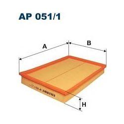 AP 051/1 F AP051/1 FILTR POWIETRZA OPEL CORSA C WSZYSTKIE SZT FILTRY FILTRON [863998]...