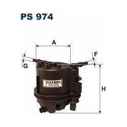 PS 974 F PS974 FILTR PALIWA CITROEN/PEUGEOT/FORD/TOYOTA 1.4 HDI/TDCI SZT FILTRY FILTRON [864321]...