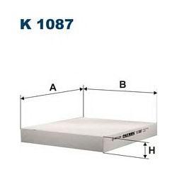 K 1087 F K1087 FILTR KABINOWY HONDA CIVIC 95- ; WSZYSTKIE FILTRY FILTRON [864912]...