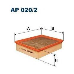 AP 020/2 F AP020/2 FILTR POWIETRZA OPEL VECTRA B 2.2 TDI 10/00- SZT FILTRY FILTRON [865018]...