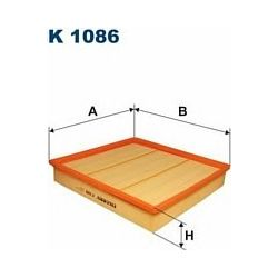 K 1086 F K1086 FILTR KABINOWY RENAULT MAGNUM FILTRY FILTRON [865579]...