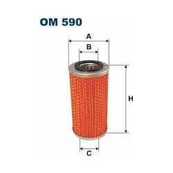 OM 590 F OM590 FILTR OLEJU VOLVO TRUCK FH12/F12 SZT FILTRY FILTRON [865597]...