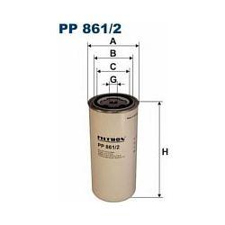 PP 861/2 F PP861/2 FILTR PALIWA DAF 95XF,75,85,65 = F PP 861 SZT FILTRY FILTRON [866156]...