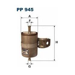 PP 945 F PP945 FILTR PALIWA CHRYSLER VOYAGER 3.0I LE SE 88- SZT FILTRY FILTRON [866164]...