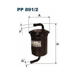 PP 891/2 F PP891/2 FILTR PALIWA MAZDA XEDOS 9 2.0I 2.3I V6 2.5I SZT FILTRY FILTRON [866281]...