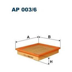 AP 003/6 F AP003/6 FILTR POWIETRZA CHRYSLER GRAND VOYAGER/VOYAGER 2.5-3.8 02/01- SZT FILTRY FILTRON [866713]...