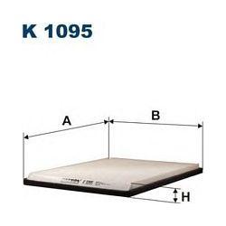 K 1095 F K1095 FILTR KABINOWY RENAULT MEGANE SCENIC I -1/98 FILTRY FILTRON [868109]...