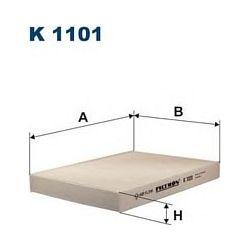 K 1101 F K1101 FILTR KABINOWY FIAT DOBLO 1/02- PUNTO II 1/01- FILTRY FILTRON [868111]...