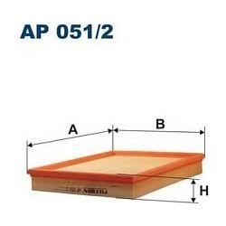 AP 051/2 F AP051/2 FILTR POWIETRZA OPEL ZAFIRA/ASTRA II 2.2I 16V 2/01- SZT FILTRY FILTRON [868448]...