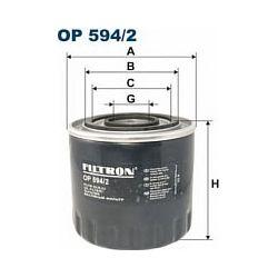 OP 594/2 F OP594/2 FILTR OLEJU RENAULT ESPACE/LAGUNA I 2.2TD SZT FILTRY FILTRON [868594]...