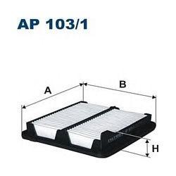 AP 103/1 F AP103/1 FILTR POWIETRZA HONDA CIVIC 1.3 06 ; SZT FILTRY FILTRON [870130]...
