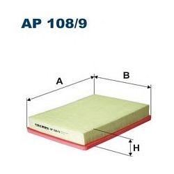 AP 108/9 F AP108/9 FILTR POWIETRZA KIA CARENS III/MAGENTIS II 2.0/2.7 05 ; SZT FILTRY FILTRON [870131]...